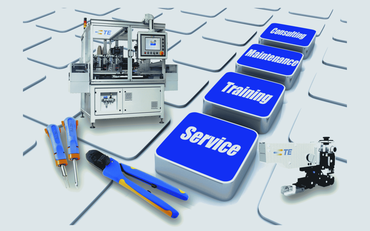 Field Service bei TE Application Tooling
